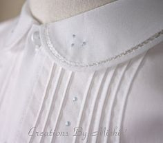 Creations By Michie` Blog: Tutorials for heirloom construction and smocking