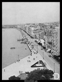1960 ~ Thessaloniki Old Photos, Vintage Photos, Greek History, Paradise On Earth, Thessaloniki, Athens Greece, Natural Phenomena, Greeks, Macedonia
