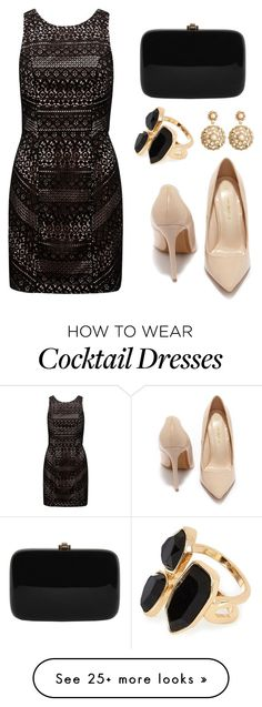 """look for christmas"" by tania-alves on Polyvore featuring Forever New, Shoe Republic LA, Rocio, River Island and Brooks Brothers"