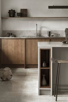 Modern Kitchen Interior Remodeling Is the All-White Kitchen Trend Finally Over? Nordic Kitchen, All White Kitchen, White Kitchens, Scandinavian Kitchen, Luxury Kitchens, Dream Kitchens, Remodeled Kitchens, Tuscan Kitchens, Eclectic Kitchen