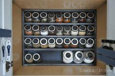 sawdust2stitches spice cabinet makeover