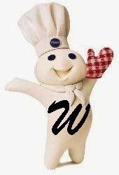 Alfabeto con el muñeco de Pillsbury. | Oh my Alfabetos!