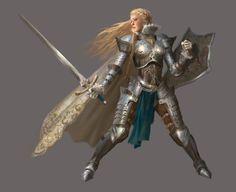 Knight Girl, Yumiki Hong on ArtStation at http://www.artstation.com/#/artwork/knight-girl-c7551982-0f99-41d9-8b98-96eb0b41fcbe