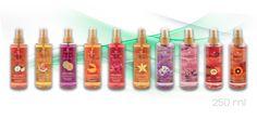 Cuatro Nuevos Body Mist a nuestra colección. Solo en Equivalenza. New Body Mist. Let your skin to discover new refreshing sensations