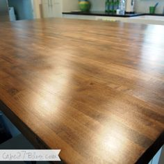 DIY Butcher Block from lumbar liquidators $518