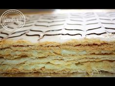 Homemade Mille home-made Mille Feuille or thousand sheet cake Pudding Desserts, Desserts Français, Custard Desserts, Small Desserts, French Desserts, Phylo Dough Recipes, Pastry Recipes, Cake Recipes, Dessert Recipes