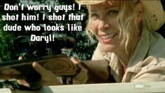 Andrea from the Walking Dead summed up in 31 pictures