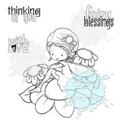 Fairy Blessings | Digital Stamp