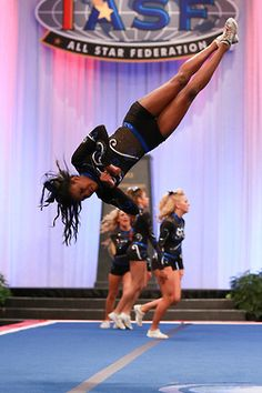 1000+ images about Cheer Power Tumbling on Pinterest - Cheer Hairstyles