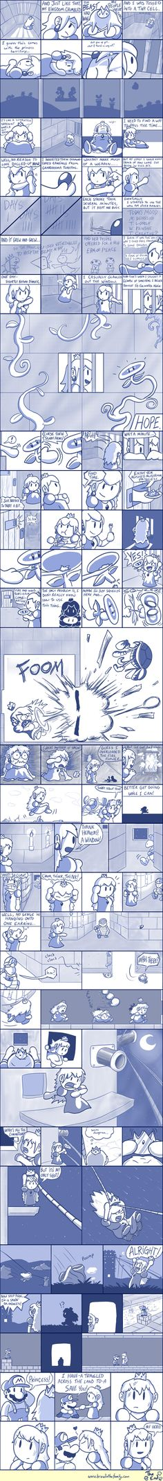 Brawl in the Family » Archive » 260 – The Captive Princess...this is an amazing comic, i love it