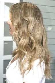 sandy blonde hair color yes please