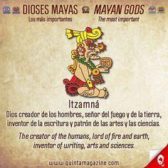 Itzamná: Dioses mayas ... Los más importantes 🔸 Mayan gods ... The most important ☀🌨🔥💀🌿🇲🇽 #infografía #infographic #dioses #gods #diosesmayas #mayangods #maya #mayan #culturamaya #mayanculture #religion  #nombres #names #maya #language #caribe #caribbean #cultura #culture #informacion #information #interesante #interesting #itzamna #rivieramaya #mexico