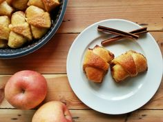 Apple dumpling (no recipe)