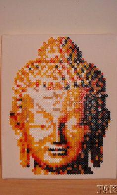 images Pixel Beads, Fuse Beads, Hama Beads Patterns, Beading Patterns, Perler Bead Art, Perler Beads, Kandi, Bead Crafts, Pixel Art