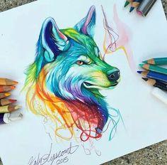 Técnica lápices de colores