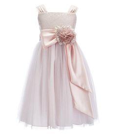 Chantilly Place Big Girls 716 Brocade Ballerina Dress #Dillards