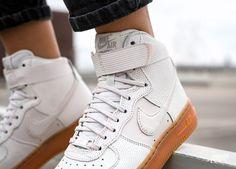 Nike AIR FORCE 1 UPSTEP WARRIOR N7 Sneakerboot NEW