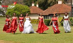 Kenyan bride's maids and their beauty Kenyan Wedding, Nairobi, Bridesmaid Dresses, Wedding Dresses, Maids, Weddings, Photography, Beauty, Fashion