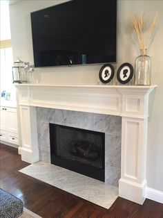 freckles chick fireplace mini facelift mi casa pinterest living rooms room and house