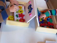 A blog with ideas and activities for preschoolers (home or at preschool).