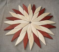 Wooden trivet. Stands for hot by WoodenOKshop on Etsy