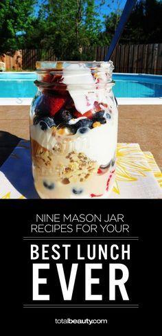Mason Jar lunch recipes!