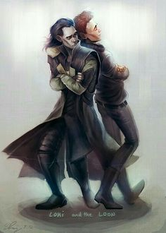 Tom and Loki ❤ :D