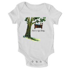 "Infant ""Rock-a-bye Baby"" Onesie"
