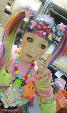 Kawaii Decora Harajuku Japan Japanese Fashion Girl