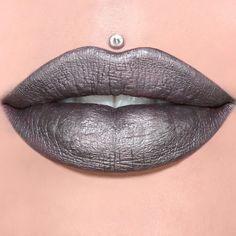 Brown Liquid Lipstick, Wet N Wild Lipstick, Celebrity Skin, Lipstick Collection, Metallic Pink, Lipstick Shades, Jeffree Star, Cosmetics, Gray