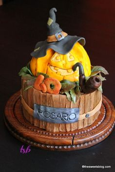 Halloween cake for 40th birthday - Cake by Ginestra