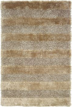 This Fusion Collection rug is manufactured by Oriental Weavers Sphinx. Glitz and glamour never looked so comfortable! The Fusion shags from Sphinx are true statement pieces in both color and texture. Grey Rugs, Beige Area Rugs, Thing 1, Polypropylene Rugs, Gold Rug, Natural Area Rugs, Machine Made Rugs, Contemporary Rugs, Small Rugs