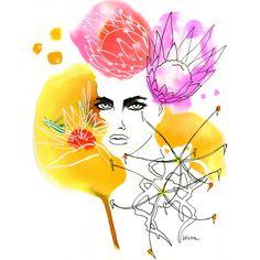 Fashion Illustration Limited Edition Art Print by LovisaOlivStudio