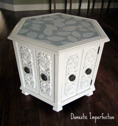 """This is really cool, especially when you see the before. My grandparents just moved and have offered me tons of furniture that I passed on because it didn't really """"fit my vision"""". I may need to reconsider some of it."""