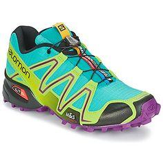 Zapatilla running diseñada por Salomon, Speedcross 3 Woman lo tiene tod, colorido, estilo, resistencia, calidad...  ¡Un modelo ideal para llevar en todos los caminos! #runing #moda #spartoo #tendencia #deporte  http://www.spartoo.es/Salomon-SPEEDCROSS-3-WOMAN-x1234065.php
