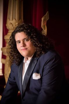 """First introduced to the world in Britain's Got Talent,  Jonathan Antoine has been called """"the British Pavarotti."""" 2014 Interview with Jane Clinton"""