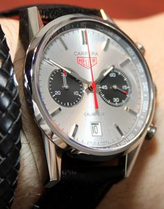 Jack Heuer's TAG Heuer Limited Edition Carrera 80 #Aim2Win