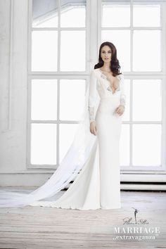 Marie Ollie , Marriage extravaganza, bride, wedding dress