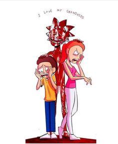 R Rick And Morty, Rick And Morty Poster, Rick And Morty Characters, Gravity Falls, Cute Stories, Adult Cartoons, Geek Culture, Fanart, Cartoon Network