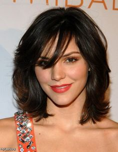 fringes for an oblong face - Google Search                                                                                                                                                                                 More