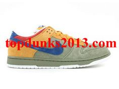new style 893a0 23ef3 Famous SB Puff Stuff oil Green International Blue Nike Dunk Low SB Premium  Premium Quality Nike