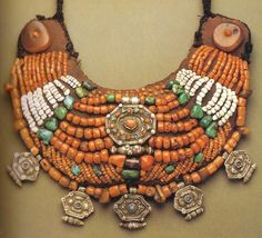 African Trade Beads.     These are not African Trade Beads. This ip[iece is from Tibet or Nepal.