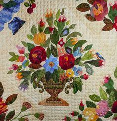 Sue Garman Gorsuch Family Quilt Circa 1840 Revisited - Margo Hardie