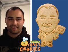 30th Birthday Ideas -San Francisco Giants Fan - Custom Cookies - Favors