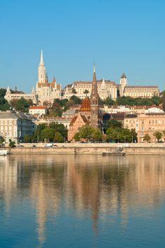Duna, Víziváros, Budai vár