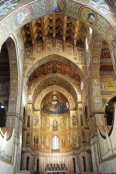 Palermo, Sicily, Italy. There is practically a catherdral church on every street! Love it!