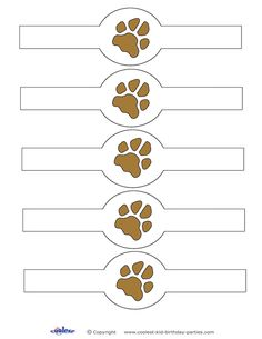 You can print these napkin holders on colored paper or print on white paper and let your kids color them in. Print and cut around each one, fold in a ...