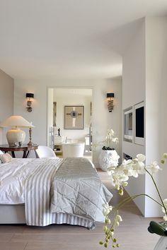By Zantos Interiors, Master bedroom, France