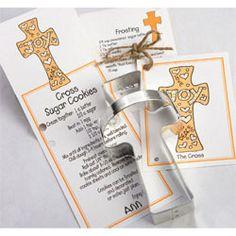 Religious Themed Cookie Cutters - Cookie Cutter Cross Tin Ann Clark