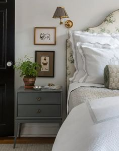 Granny's Chintz Is Back in Style - PureWow Boutique Interior Design, Suites, Guest Bedrooms, Blue Bedrooms, Master Bedrooms, Guest Room, Beautiful Bedrooms, House Beautiful, My New Room